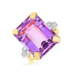 Amethyst Gemstone Rings