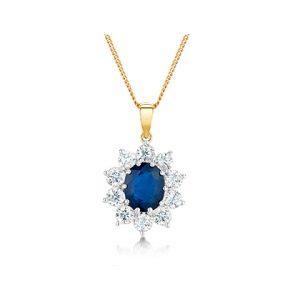 Sapphire Gemstone Pendants