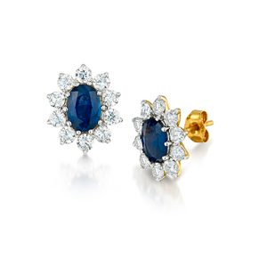Sapphire Gemstone Earrings