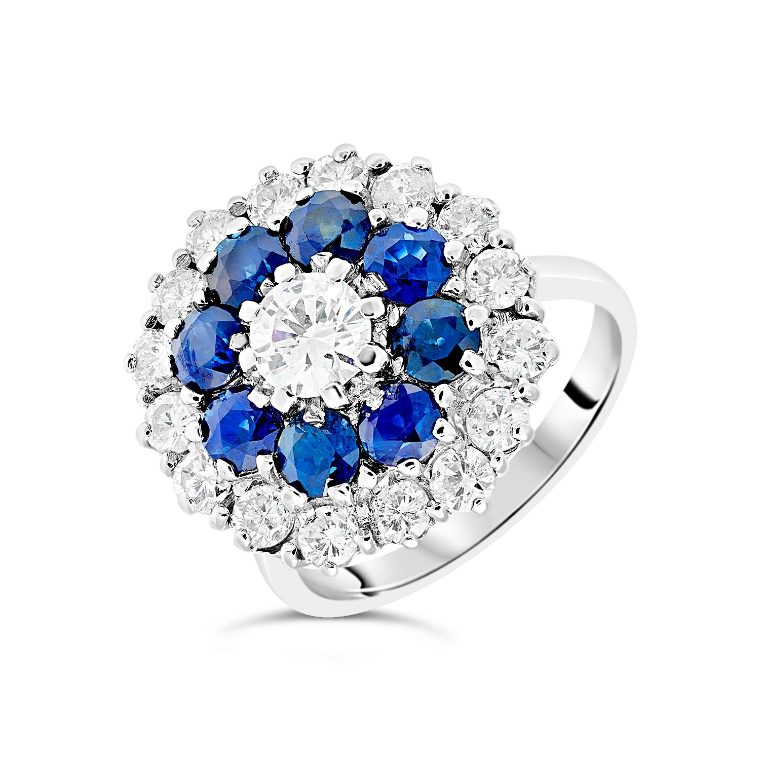 Colourful vintage ring