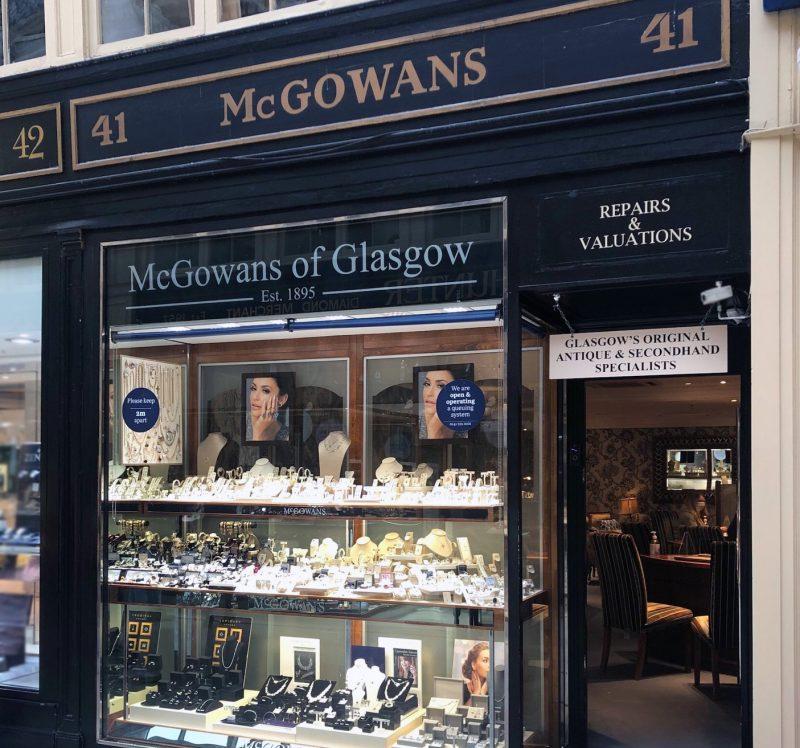 McGowans Jewellers store